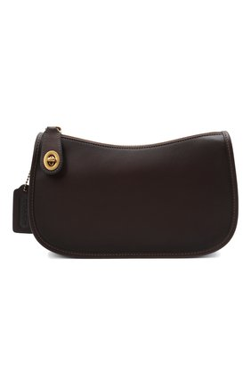 Женская сумка swinger COACH темно-коричневого цвета, арт. C0638   Фото 1