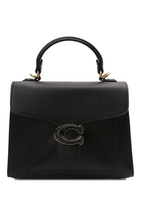 Женская сумка tabby small COACH черного цвета, арт. C0773   Фото 1
