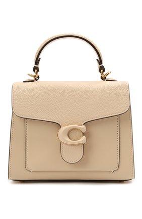 Женская сумка tabby small COACH кремвого цвета, арт. C0773   Фото 1