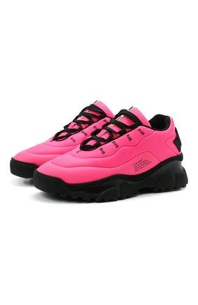 Женские текстильные кроссовки F_WD розового цвета, арт. FWW36013A/13033 | Фото 1