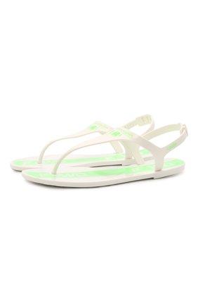 Женские сандалии F_WD белого цвета, арт. FWW36051A/13071 | Фото 1