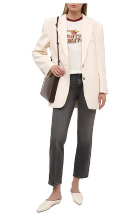Женская хлопковая футболка DOLCE & GABBANA белого цвета, арт. F8N36T/HI7HA | Фото 2