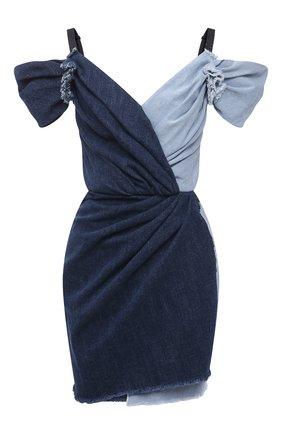 Женское джинсовое платье DOLCE & GABBANA синего цвета, арт. F6N0ND/G900Q | Фото 1