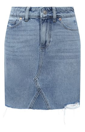 Женская джинсовая юбка PAIGE голубого цвета, арт. 6896I07-4693 | Фото 1