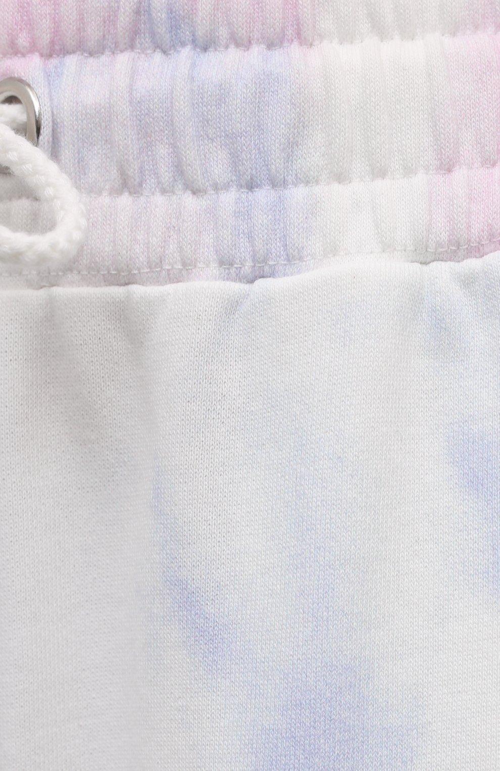 Женские хлопковые джоггеры PAIGE разноцветного цвета, арт. 6707G33-8756 | Фото 5 (Женское Кросс-КТ: Брюки-спорт, Джоггеры - брюки; Длина (брюки, джинсы): Стандартные; Силуэт Ж (брюки и джинсы): Джоггеры; Материал внешний: Хлопок; Стили: Спорт-шик)