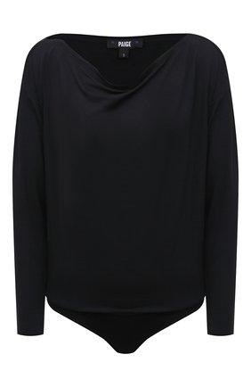Женское боди из вискозы PAIGE черного цвета, арт. 6660F35-1086 | Фото 1