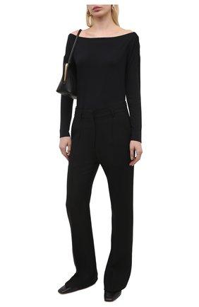 Женское боди из вискозы PAIGE черного цвета, арт. 6660F35-1086 | Фото 2
