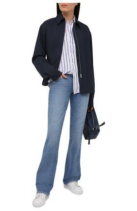 Женские джинсы PAIGE голубого цвета, арт. 6612635-3461 | Фото 2