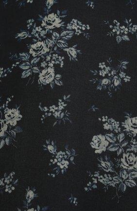 Женская шелковая юбка BROCK COLLECTION темно-синего цвета, арт. BRPS35009A/BS072 | Фото 5 (Материал внешний: Шелк; Женское Кросс-КТ: Юбка-одежда; Длина Ж (юбки, платья, шорты): Миди; Материал подклада: Вискоза; Стили: Романтичный)