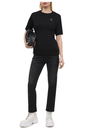 Женский хлопковый свитшот KENZO черного цвета, арт. FB52SW6154ML   Фото 2