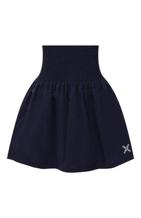 Женская юбка kenzo sport KENZO темно-синего цвета, арт. FB52JU1489C0 | Фото 1
