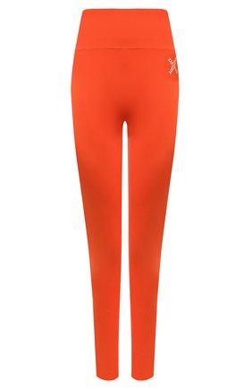 Женские леггинсы kenzo sport KENZO оранжевого цвета, арт. FA62PA7294SC | Фото 1