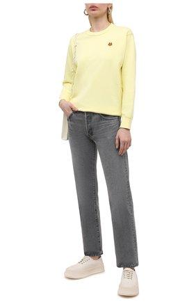 Женские джинсы MOUSSY серого цвета, арт. 025ESC11-1220 | Фото 2