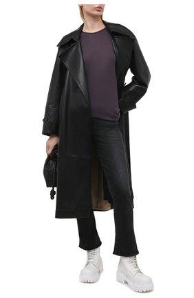 Женские джинсы MOUSSY черного цвета, арт. 025ESC12-1210 | Фото 2
