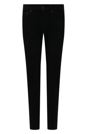 Женские джинсы MOUSSY черного цвета, арт. 025ESC12-2440 | Фото 1