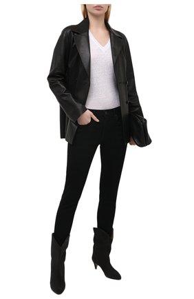 Женские джинсы MOUSSY черного цвета, арт. 025ESC12-2440 | Фото 2