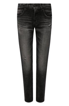 Женские джинсы MOUSSY черного цвета, арт. 025ESC12-2500 | Фото 1