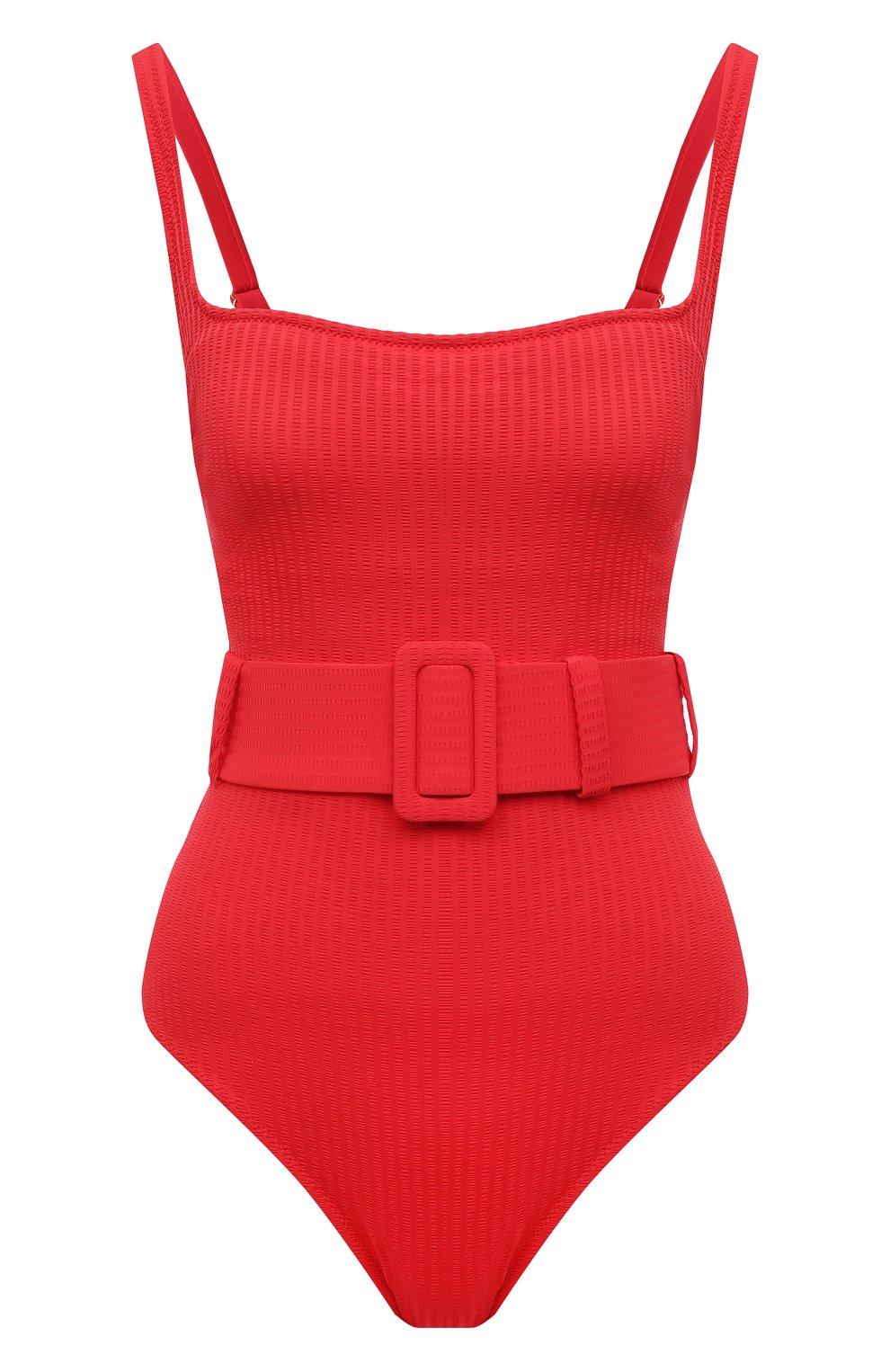 Женский слитный купальник EVARAE красного цвета, арт. S21CASSANDRA-RTX | Фото 1