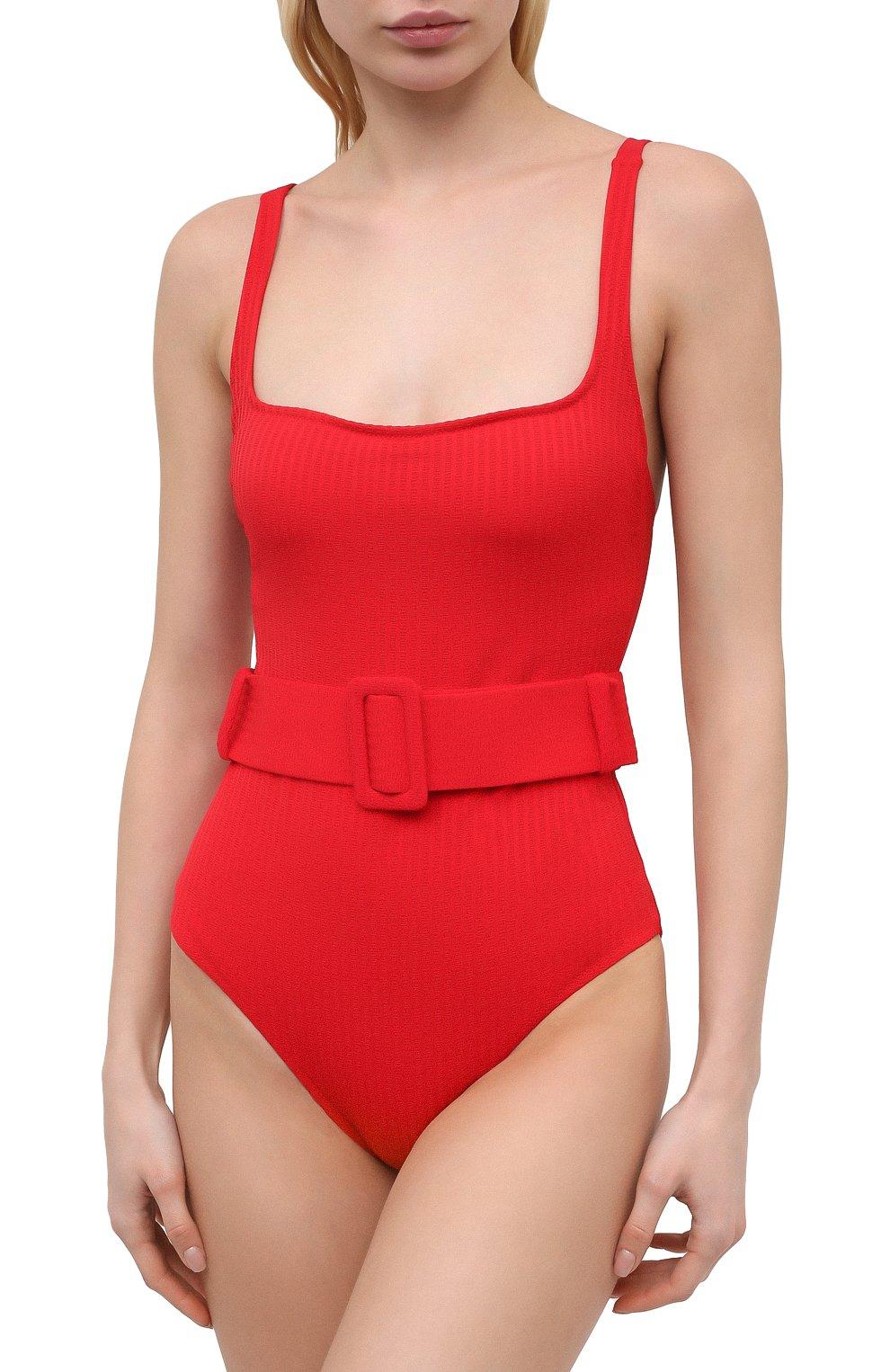 Женский слитный купальник EVARAE красного цвета, арт. S21CASSANDRA-RTX | Фото 2