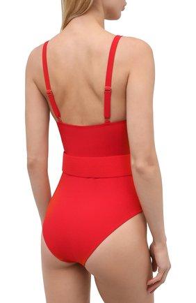 Женский слитный купальник EVARAE красного цвета, арт. S21CASSANDRA-RTX | Фото 3