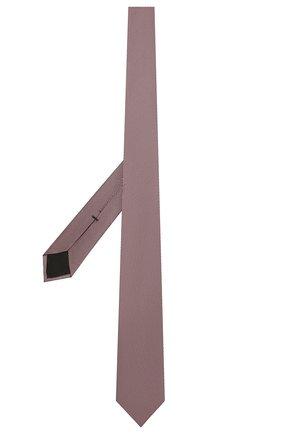 Мужской шелковый галстук BOSS розового цвета, арт. 50452059 | Фото 2