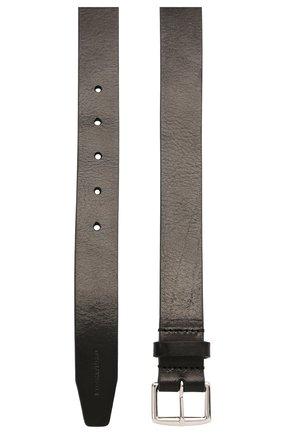 Мужской кожаный ремень DSQUARED2 черного цвета, арт. BEM0004 12900001 | Фото 2