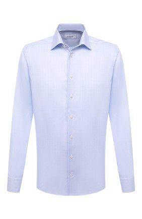 Мужская хлопковая сорочка ETON голубого цвета, арт. 1000 02045 | Фото 1