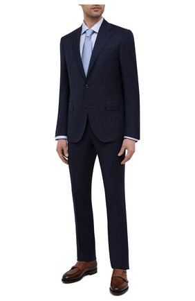 Мужская хлопковая сорочка ETON голубого цвета, арт. 1000 02045 | Фото 2
