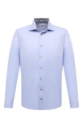 Мужская хлопковая сорочка ETON голубого цвета, арт. 1000 03019 | Фото 1