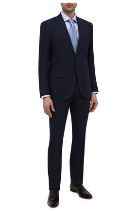 Мужская хлопковая сорочка ETON голубого цвета, арт. 1000 03019 | Фото 2
