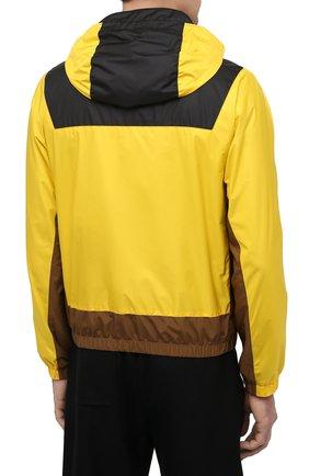 Мужской бомбер CANALI желтого цвета, арт. 040611/SY01617 | Фото 4