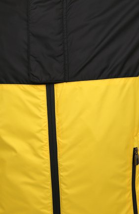 Мужской бомбер CANALI желтого цвета, арт. 040611/SY01617 | Фото 5