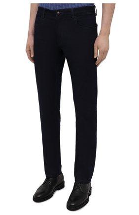 Мужские джинсы CANALI темно-синего цвета, арт. 91751/PX00816 | Фото 3