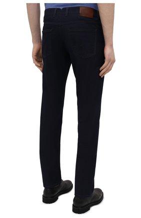 Мужские джинсы CANALI темно-синего цвета, арт. 91751/PX00816 | Фото 4