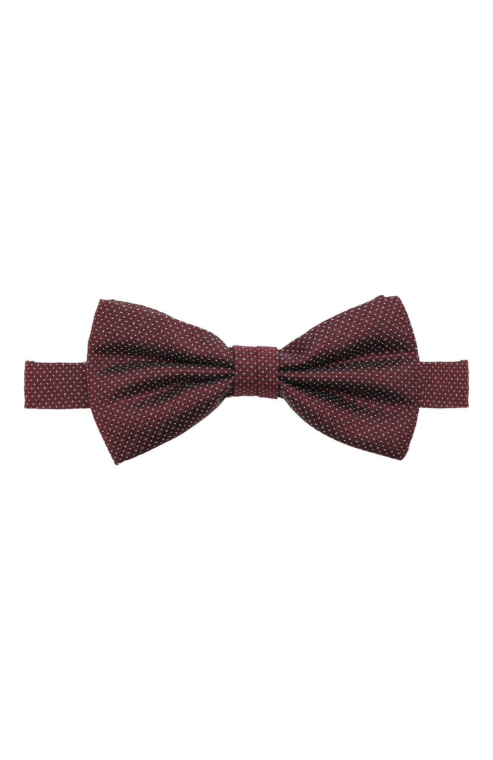 Мужской шелковый галстук-бабочка CANALI бордового цвета, арт. 02/HJ03186 | Фото 1