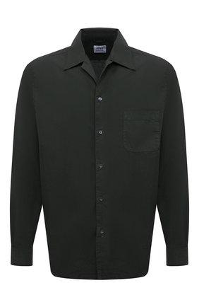 Мужская хлопковая рубашка ASPESI зеленого цвета, арт. S1 A CE53 G329 | Фото 1