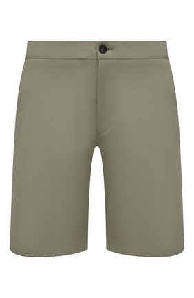 Мужские хлопковые шорты HARRIS WHARF LONDON зеленого цвета, арт. C3003PBR | Фото 1