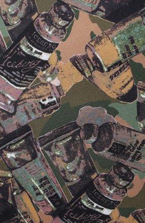 Мужская хлопковая футболка ICEBERG разноцветного цвета, арт. 21E I1P0/F018/6301 | Фото 5 (Рукава: Короткие; Длина (для топов): Стандартные; Стили: Гранж; Принт: С принтом; Материал внешний: Хлопок)