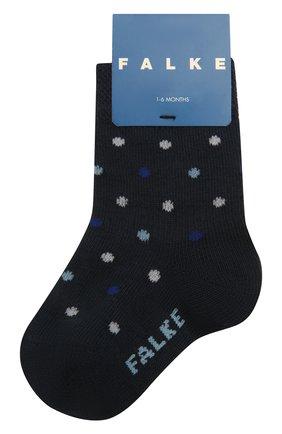 Детские хлопковые носки FALKE синего цвета, арт. 12090. | Фото 1