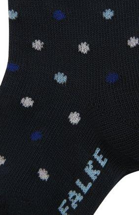 Детские хлопковые носки FALKE синего цвета, арт. 12090. | Фото 2