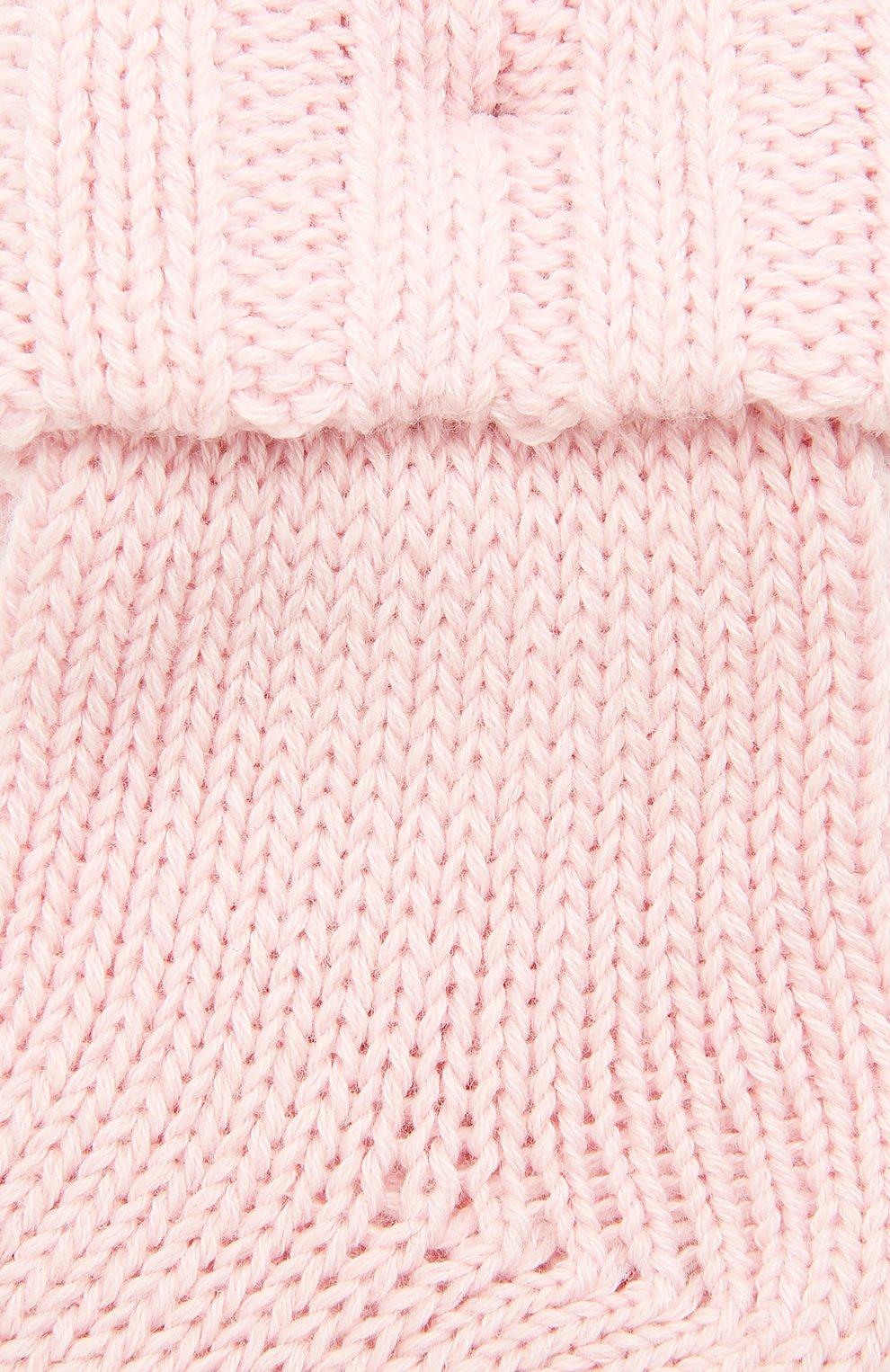 Детские хлопковые носки FALKE светло-розового цвета, арт. 10408.   Фото 2
