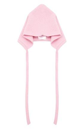 Детского шерстяная шапка WOOL&COTTON розового цвета, арт. VMLCA | Фото 1