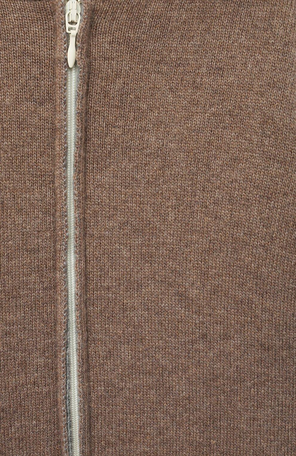 Детский кашемировый комбинезон WOOL&COTTON бежевого цвета, арт. KMLBR-H | Фото 3