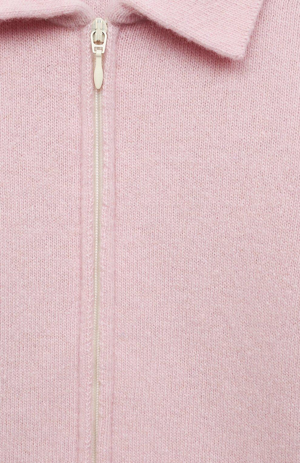 Детский кашемировый комбинезон WOOL&COTTON розового цвета, арт. KMLBR   Фото 3