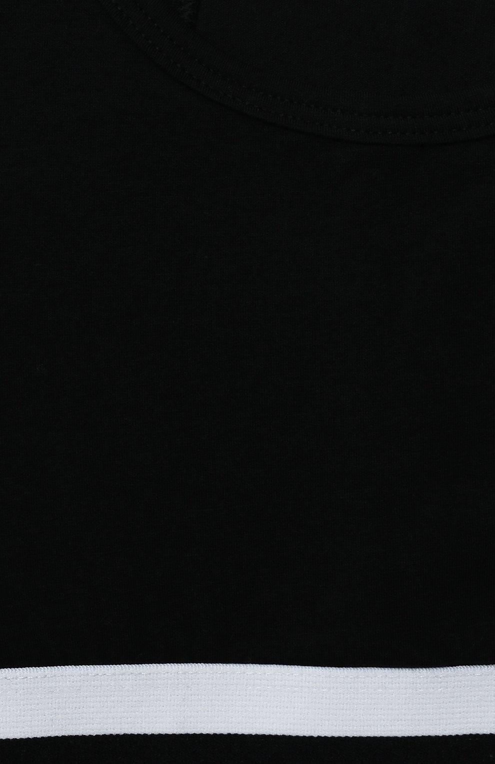 Детский бра-топ SANETTA черного цвета, арт. 346632. | Фото 3