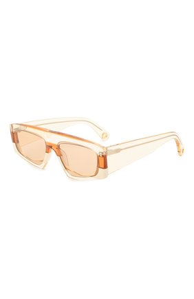 Женские солнцезащитные очки JACQUEMUS оранжевого цвета, арт. LES LUNETTES YAUC0 SHADE 0F 0RANGE | Фото 1