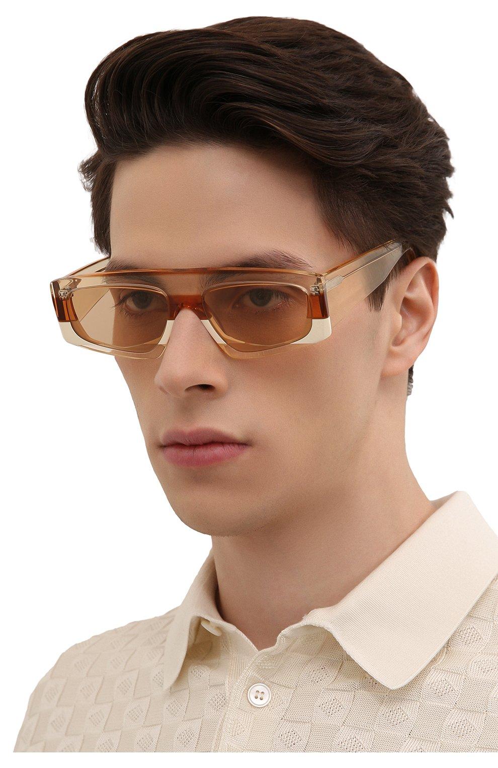 Женские солнцезащитные очки JACQUEMUS оранжевого цвета, арт. LES LUNETTES YAUC0 SHADE 0F 0RANGE | Фото 3