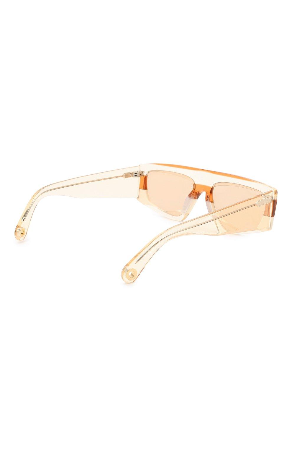 Женские солнцезащитные очки JACQUEMUS оранжевого цвета, арт. LES LUNETTES YAUC0 SHADE 0F 0RANGE | Фото 5