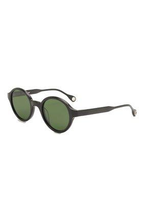 Женские солнцезащитные очки ÉTUDES черного цвета, арт. BAKAY0K0 BLACK   Фото 1