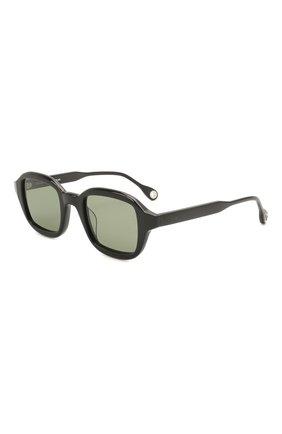 Женские солнцезащитные очки ÉTUDES черного цвета, арт. ILLUSI0N BLACK   Фото 1